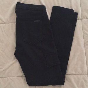Blk Hudson skinny cargo jeans Sz 27